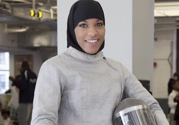Why she's Walker's Legacy: When she competes at this summer's Olympic Games in Rio de Janeiro, Ibtihaj Muhammad will make history as the first member of Team USA to compete while wearing a hijab. Muhammad, secured her spot by winning a bronze medal during the fencing World Cup in Athens on (January 30. She is now the second-highest-ranking fencer on Team USA's women's squad. In an interview on TeamUSA.org, Muhammad said that she pursued fencing at the professional level in part to help break barriers in sports. In addition to being an outstanding competitor she's also an entrepreneur with a successful line of modest fashion you can find at Louella.com.