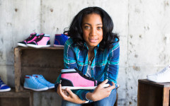 "Pitcher, Mo'Ne Davis has made headlines for her 70 mph fastball and the first girl to pitch a shutout in the Little League World Series, but here recently she's proving to be a grand-slammer with the Mo'Nae Davis Collection which is a line of sneakers. 15% of the proceeds to ""Because I Am a Girl"" which provides impoverished girls and women the opportunities of healthcare, education, food and protection."