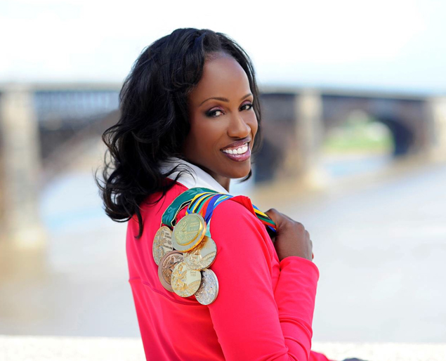 "Track and field gold medalist Joyner-Kersee is the first African American woman to win an Olympic medal in the long jump, and the first woman to score 7,000 points in the heptathlon. At the age of 38 in 2001 Joyner-Kersee hung up her cleats. She founded the Jackie Joyner-Kersee Foundation which launched in Los Angeles California and she relocated it in 1995 to East St. Louis. The mission of the Jackie Joyner-Kersee Foundation is ""to instill youth in the Greater East St. Louis area with the dream, drive and determination necessary to succeed in academics, athletics and leadership."" Joyner-Kersee faced many trials and tribulations on her journey to success on and off the field. Joyner-Kersee was diagnosed with severe asthma in college and lost her mother the same year. She told Bustle: ""Every step of the way I've had different challenges, and I think that's what motivates me, because when I could have given up I found the energy to fight through."""