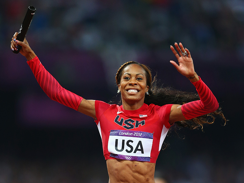 Jamaican  track and field sprinter Sanya Richards-Ross had a historical solo victory in the London Olympics  in the 400 meter dash, and anchoring the Women's U.S. relay team to another gold in the 4x400. Richards-Ross remains the most-decorated female American Track and Field Olympian of all time. Richards-Ross holds the titles of  Olympian, philanthropist, designer, and entrepreneur. She is the co-owner of The Hair Clinic Salon in Austin, Texas and has her own line of hair extensions called Rich Hair Collection. Richards-Ross saw the need for good quality hair and superb customer service and co-owns the salon with her sister, a stylist with a decade of experience.