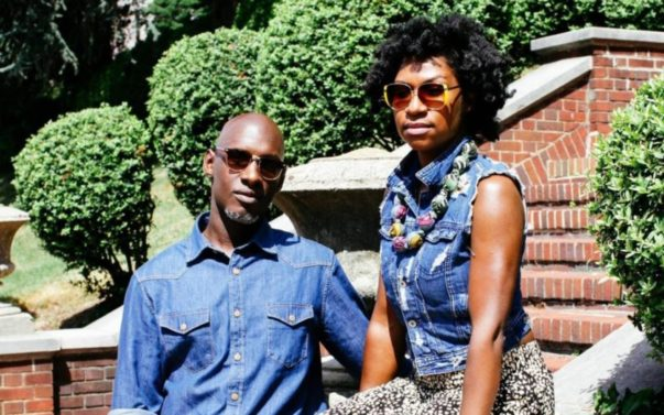 "Based in New Orleans, Tony Lawson and Shantrelle Lewis are the duo behind ""Shoppe Black,"" a website that showcases black business and culture on a global scale. His Nigerian roots and her New Orleans flavor make for the perfect combination of culture and class. They started out as just business partners, but a love blossomed shortly after. In fact, their wedding has been labeled by the web as ""#JollofAndJambalaya,"" a dish combining both cultures and ""The Royal Wedding of Zamunda,"" in reference to the movie Coming to America."