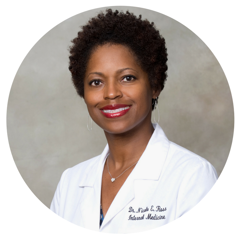 Dr. Nicole E. Ross is an Internal Medicine Physician who practices hospitalist medicine in Monticello, GA. where the majority of her hospitalized patients are seniors. She is a graduate of Spelman College where she received a B.S. in Chemistry in 1991. She completed medical school at Temple University School of Medicine in 1995 and internship/ residency at Emory University School of Medicine in 1998.  She is the co-owner and Clinical Director at Right At Home of East Atlanta In Home Care and Assistance. She and her husband and co-owner, Mark Ross, saw a vital need for increased support for seniors, allowing them to maintain independence and dignity as they age in their own homes.  Right At Home opened its doors in April of 2012, now serves over 80 families weekly and employs over 100 caregivers. They were awarded Newton County Chamber of Commerce's Emerging Business of the Year in 2013.  Right At Home of East Atlanta provides many services which include bathing, toileting, meals, medication reminders and light housekeeping. Serving Dekalb, Henry, Newton, Rockdale, and Lower Gwinnett counties. They would love to serve you and your loved one.  Dr. Ross is a member of Delta Sigma Theta Sorority, Inc. She pledged Eta Kappa Chapter at Spelman College in 1990 and is currently a Charter Member of the new Covington Area Alumnae Chapter.