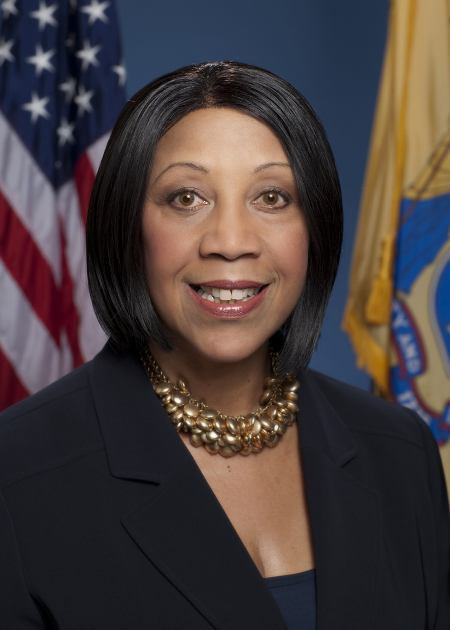 Sheila Oliver was elected as New Jersey's first African American woman lieutenant governor. She was previously the first Black woman elected as New Jersey's Assembly speaker, and the second Black female speaker in U.S. history, according to the Huffington Post.