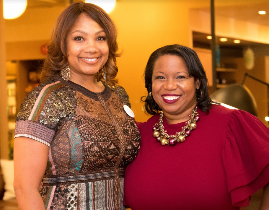 Honorees Pamela Ellis (Smahrt Solutions) and Misty Starks (Misty Blue Media)