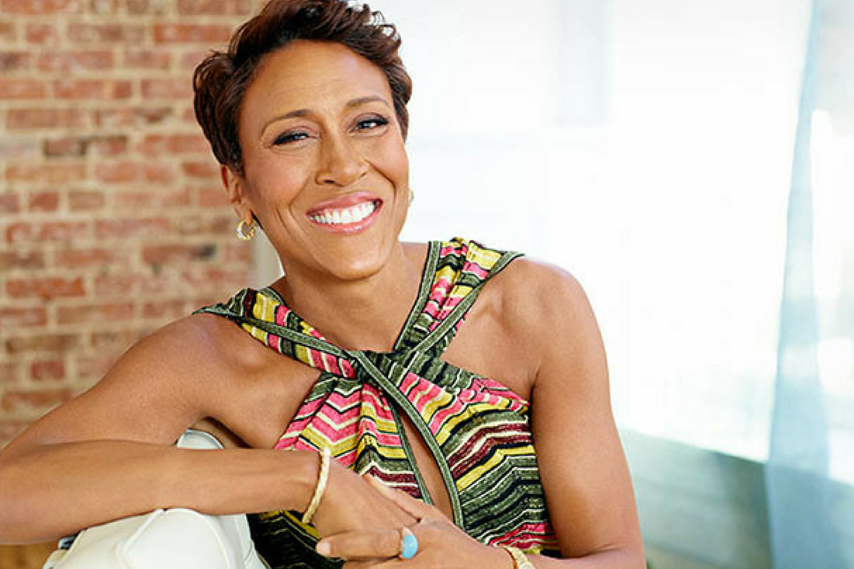 Robin Roberts is a familiar face to America as the longstanding co-anchor of Good Morning America. Her career began at ESPN where she appeared on Sports Center while occasionally contributing on Good Morning America. Roberts' importance to her fans was evident in 2011 when she to undergo treatment for a blood disorder causing her to take a two year hiatus from her position of Good Morning America. When she did return, though, the experience was emotional for both the show's staff and viewers.
